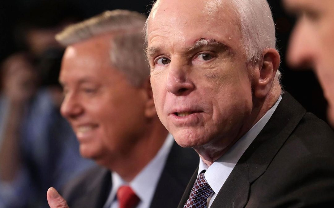 If You Want Healthcare Like John McCain's,  You Will Have To Vote For Democrats To Get It.